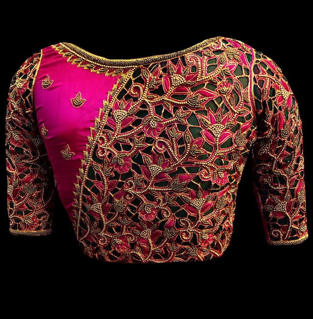 New Trendy Maggam Work Blouse Designs